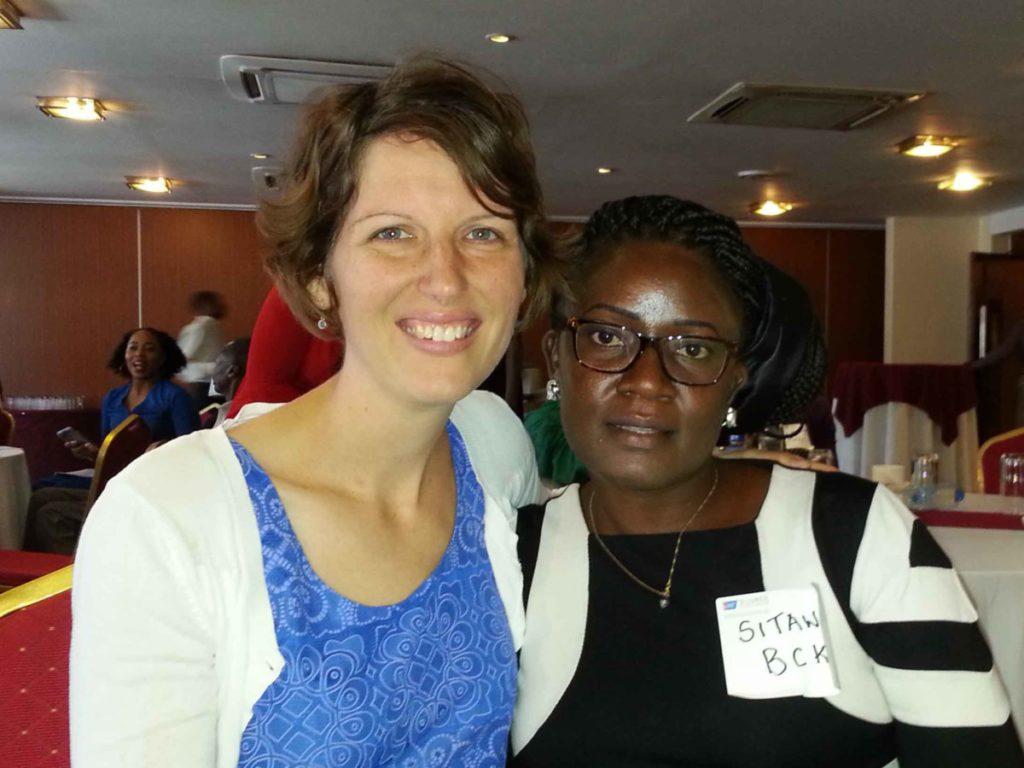 Dala Development - Emily and Josephine, founder of Breast Cancer in Kenya