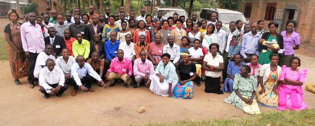 Pastors at JFM training.