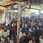 Jesus Film Ministry - gospel video at Kisba Village, Bukasa Island
