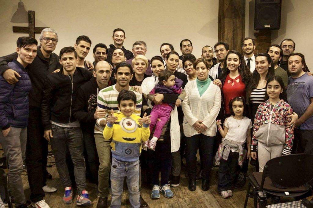 First Iranian Christian Church congregation.