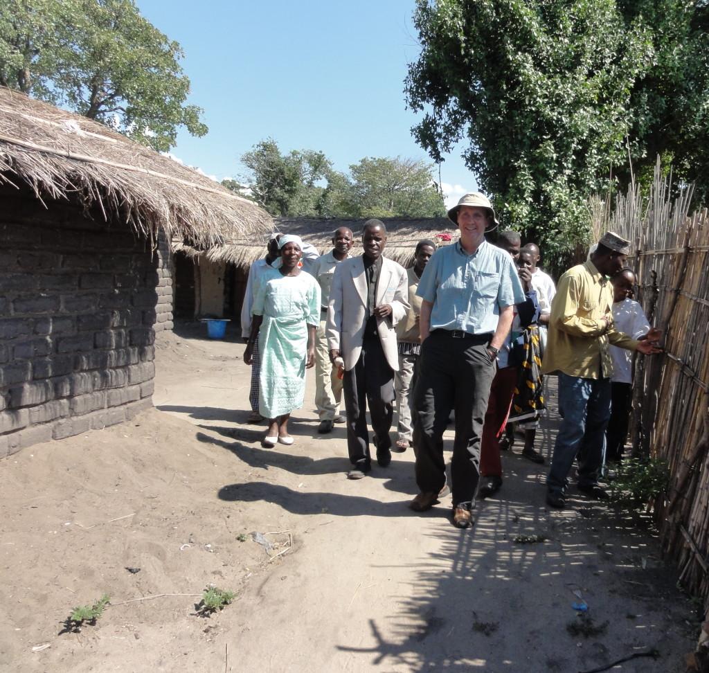 Village in Tanzania.
