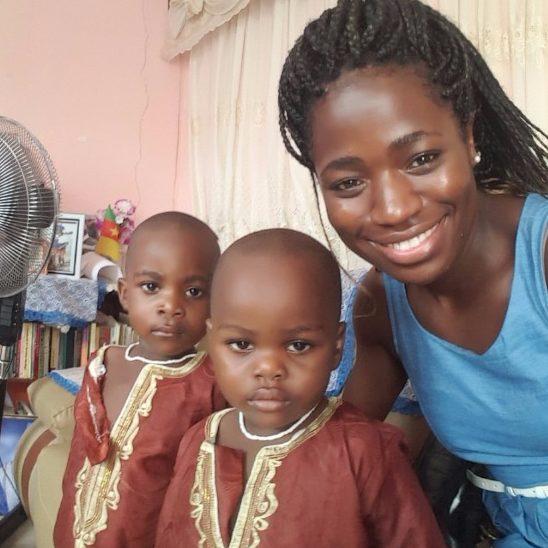 Emmanuela and children