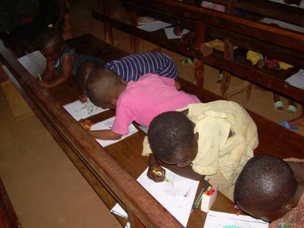 Children's activities in Cameroon Church