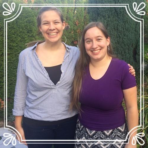Bekka, a Spansih teacher and Rachel, orchestra instructor.