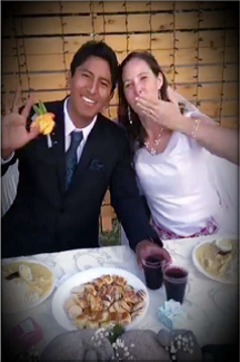 JIll and Papo get married.