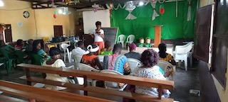 Sept. 2020 Training session in North Cameroon.