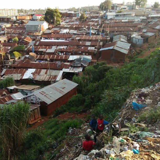 Kibera slum 2020