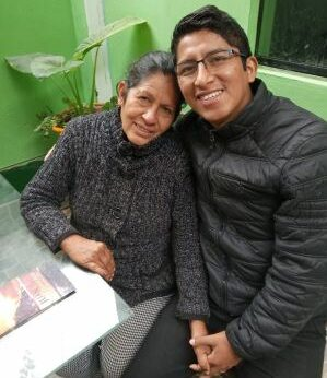 Papo's mom feeling peace in her heart after trusting Christ as her savior.