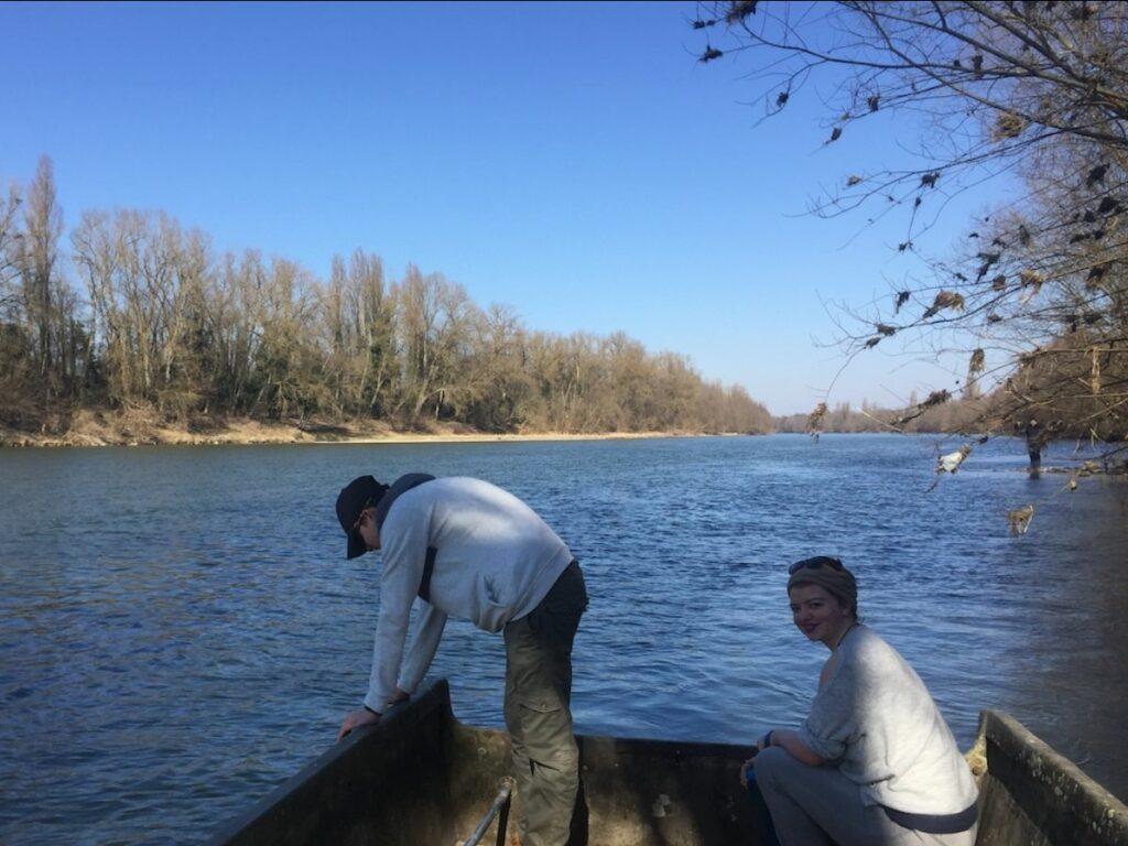 Enjoying Spring on the Rhine.