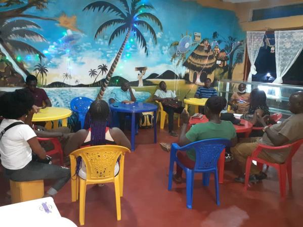 Our wonderful cafe volunteers.