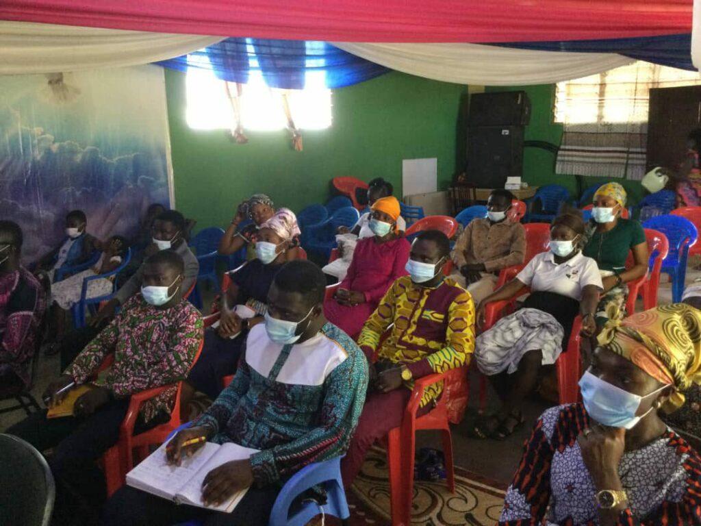 May 2021 seminar in Aboaso.