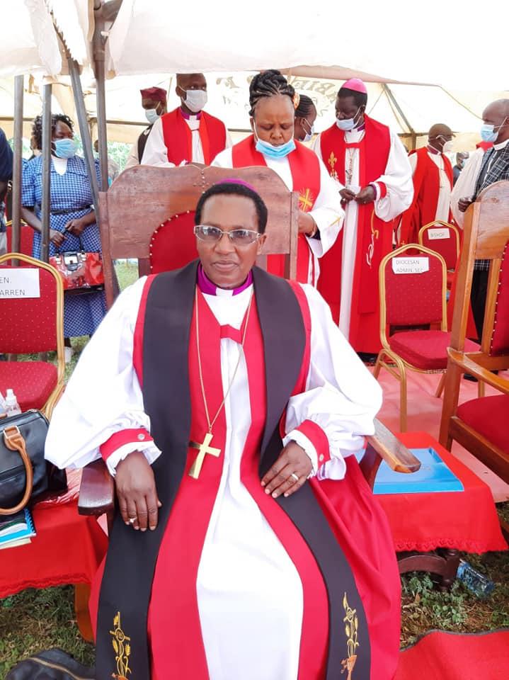 First female bishop of Kenya.