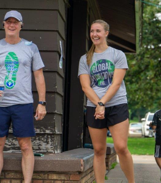 JAM Run - Anna and runner closing