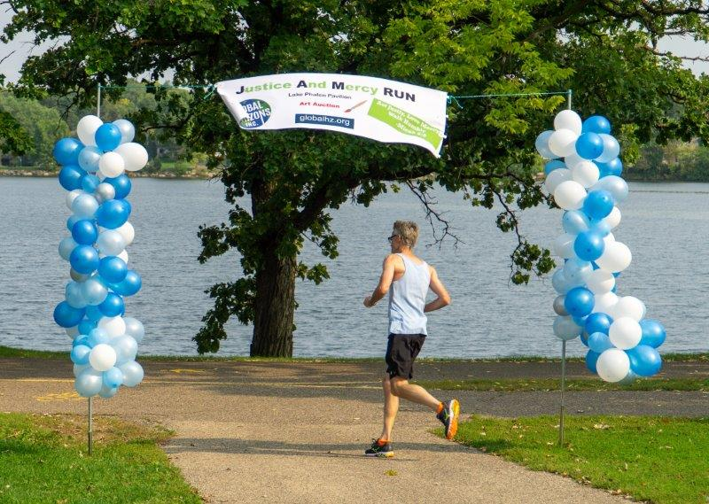 JAM Run - Tim at finish
