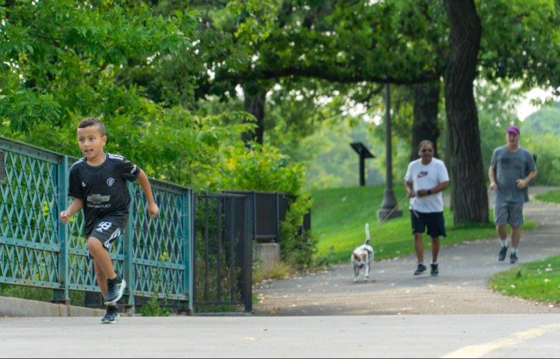 JAM Run - grandson