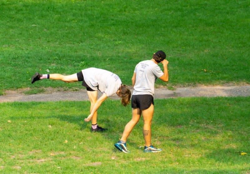 JAM Run - stretching