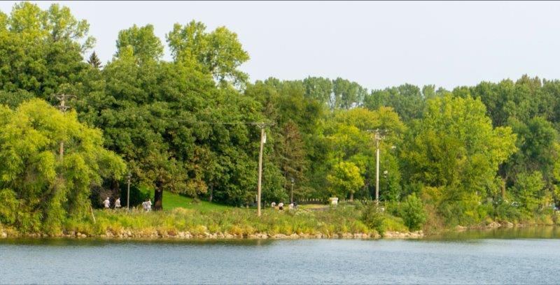 JAM Run - trail around lake